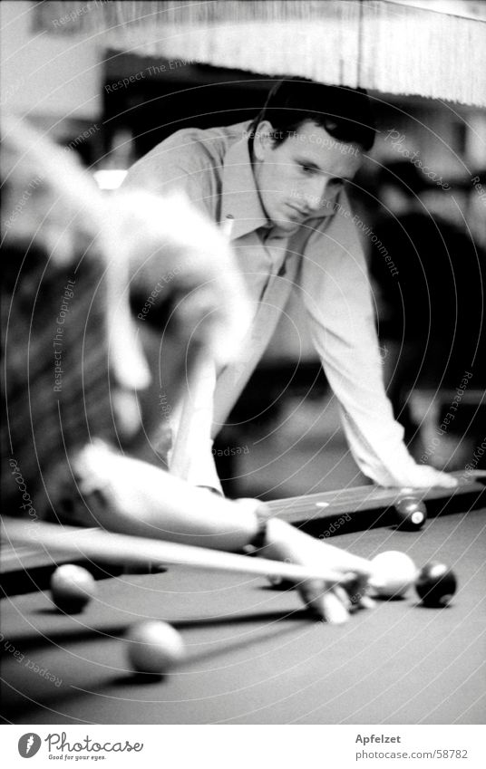 billiard Pool (game) Man Playing