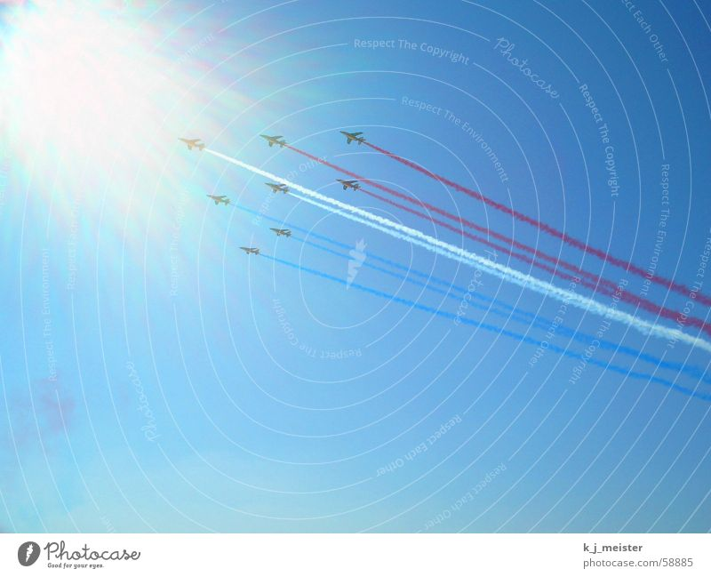 Sky Sun Airplane Jet MAKS Aerial maneuver