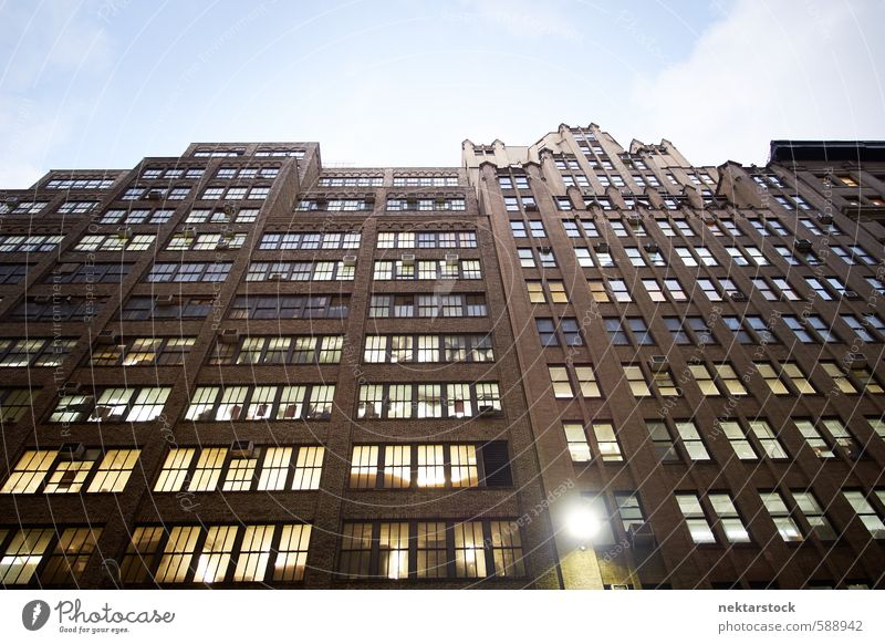 City Window Wall (building) Building Wall (barrier) Architecture Stone Work and employment Facade Office High-rise Glass Beautiful weather Industry USA