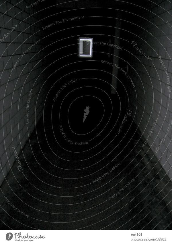 White Black Dark Wall (building) Door Floor covering Hallway