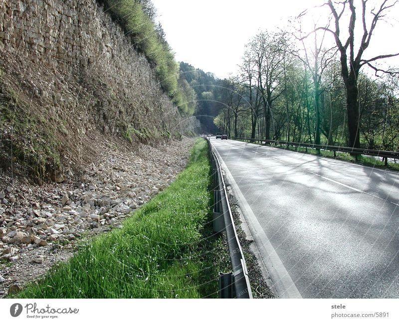 Road to Tuttlingen Quarry Transport Street Stone
