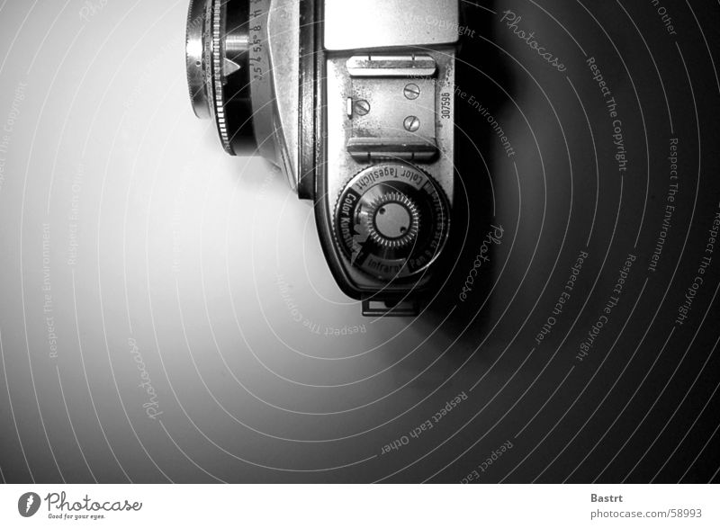 Old Photography Modern Technology Camera Nostalgia Exposure Take a photo Objective