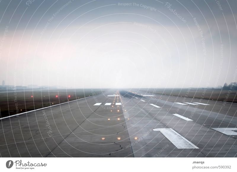 pole position Vacation & Travel Tourism Far-off places Pilot Sky Clouds Horizon Transport Runway Aviation Airport 1 Digits and numbers Signs and labeling Joy