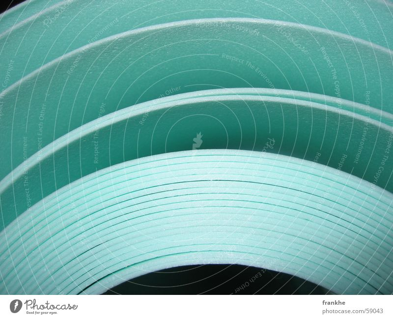 Green Black Room Paper Floor covering Infinity Hollow Coil Deploy Rebuild Bright green