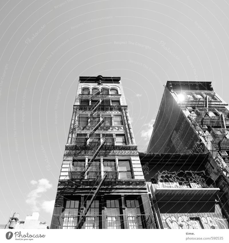First of 2014, Sunny Side Up. New York City Downtown Old town House (Residential Structure) Dream house High-rise Manmade structures Building Architecture