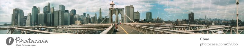 New York City Brooklyn Bridge Summer Town House (Residential Structure) High-rise USA
