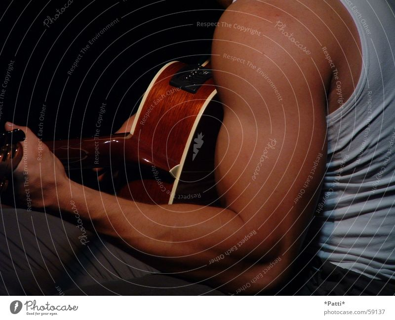 Music Skin Arm Fitness Rock music Guitar Musculature Pop music