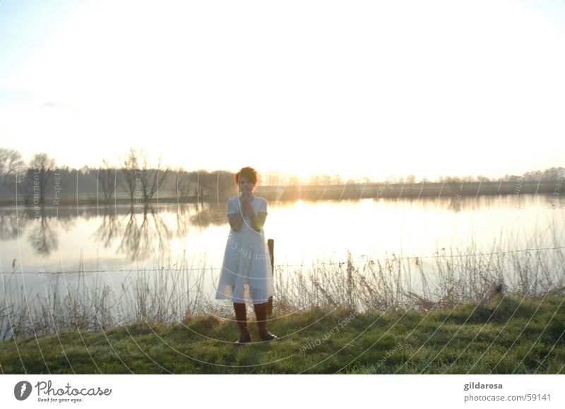 Water White Ocean Green Red Winter Cold Spring Lake Bright Coast River Dress Clarity Longing Transparent