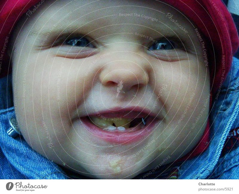 Human being Nutrition Happy Laughter Baby Toddler Child