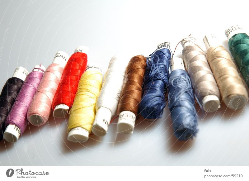 yarn Sewing thread Cloth Black Pink Red Violet Yellow White Brown Gray Beige Green Coil Rolled Dry goods Blue