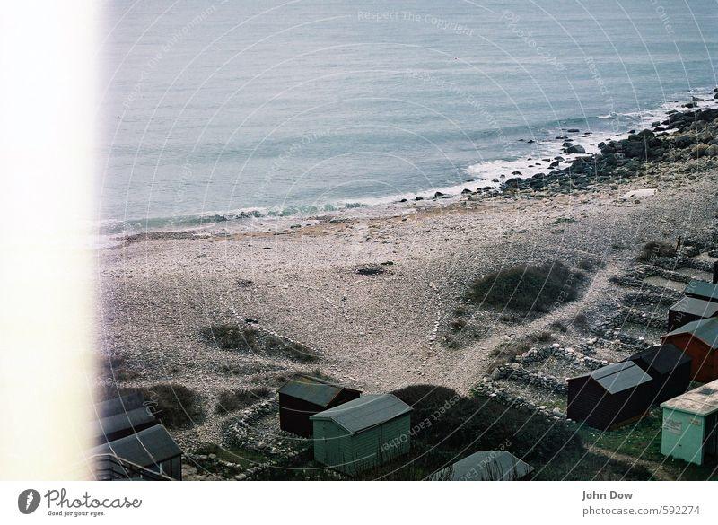 We're waiting for the summer. Piling up rocks. Vacation & Travel Beach Ocean Island Bushes Rock Coast Bay Hut Homesickness Wanderlust Heart-shaped Stony