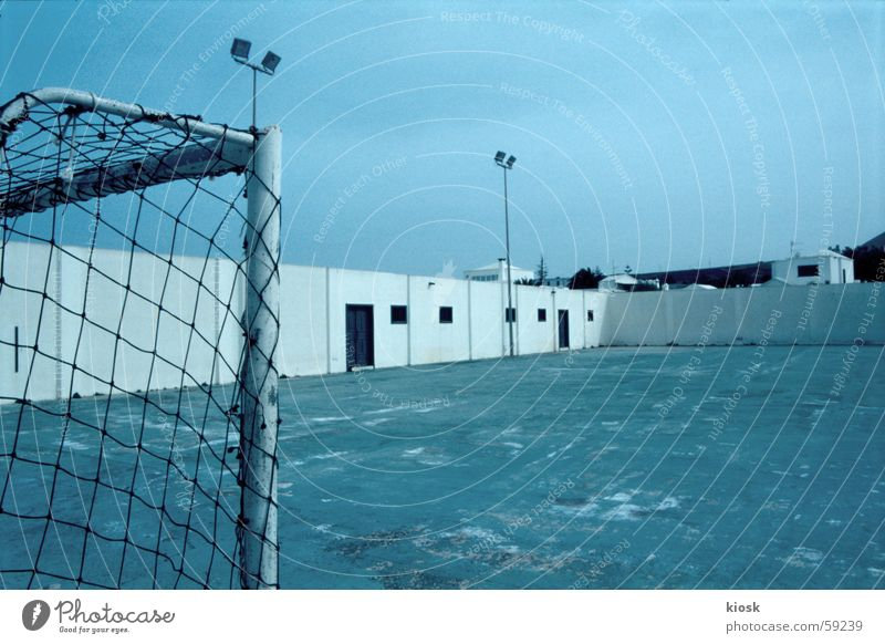 off Sporting grounds Places Empty Monochrome Gate Soccer