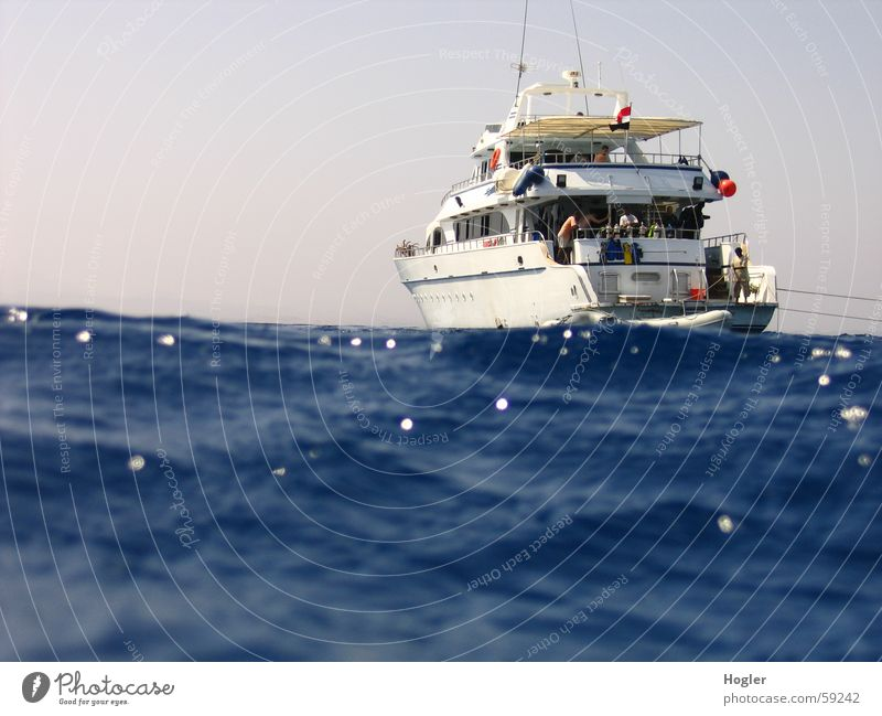aborted Dive Ocean Watercraft Egypt Safari Vacation & Travel on the high seas