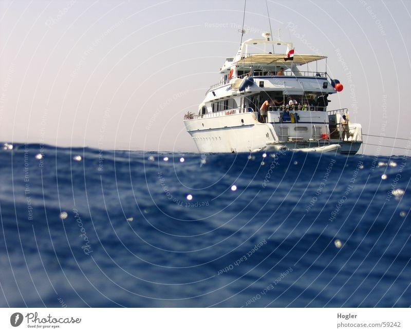 aborted Dive Ocean Watercraft Egypt Safari Vacation & Travel on the high seas