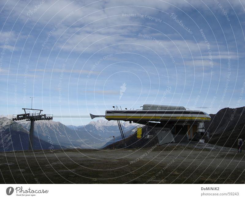 Nature Sky Summer Mountain Alps Elevator Federal State of Tyrol Vicinity Ski resort Zams Top terminal Venet