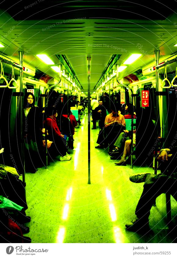 M.R.T. Taipei Reflection Underground Logistics Human being Lanes & trails Vacation & Travel Photos of everyday life