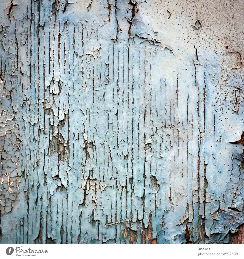 spring cleaning Style Wall (barrier) Wall (building) Wood Old Broken Retro Blue White Decline Past Flake off Varnish Background picture Ancient Colour photo