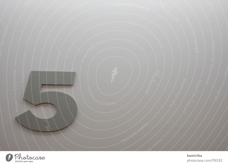 Wall (building) Gray Metal Background picture Digits and numbers 5 Steel Illustration Tin