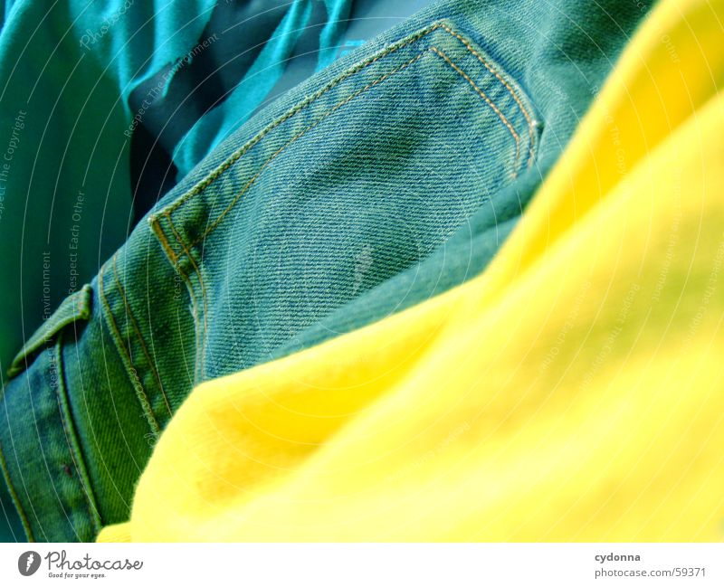 Colour Style Clothing Jeans Decoration Wrinkles Hip & trendy Textiles Screen print