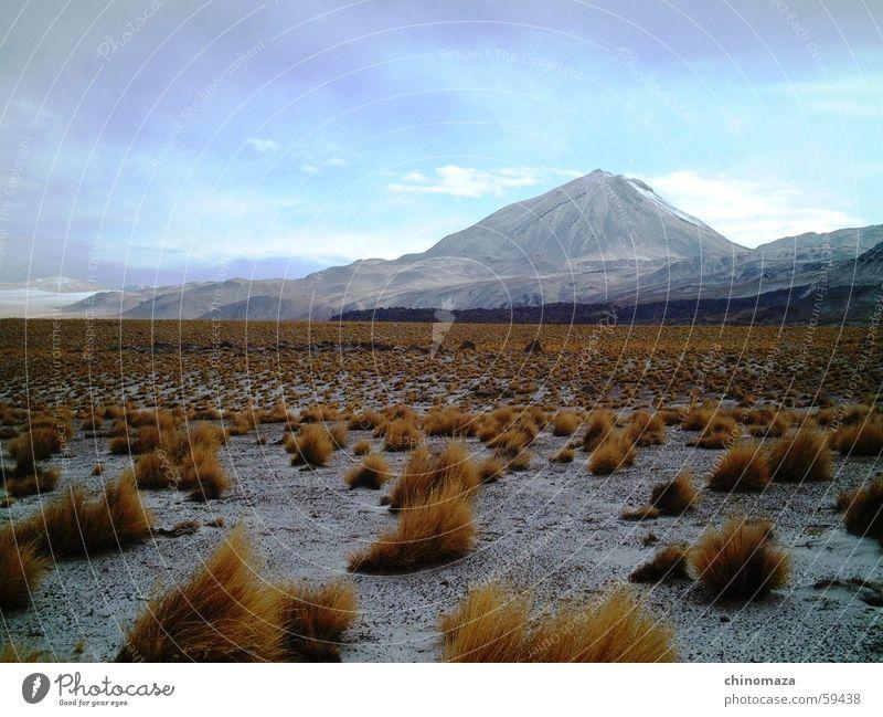 Licancabur Salar de Atacama Chile vulcan desert