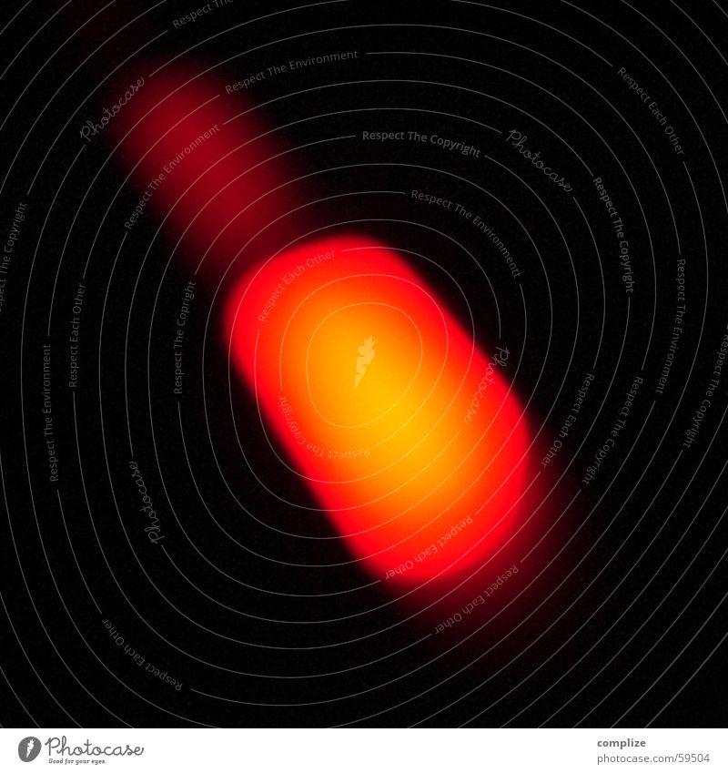 Red Lamp Dark Glittering Blaze Point Media Burn Reaction Diode