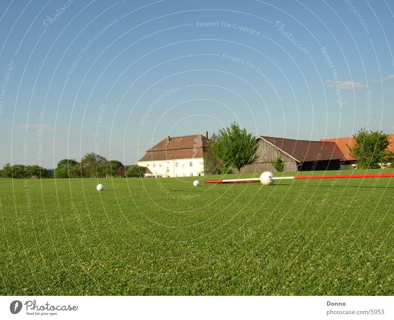 Golf course photo shooting Building Green Sports Sky Ball