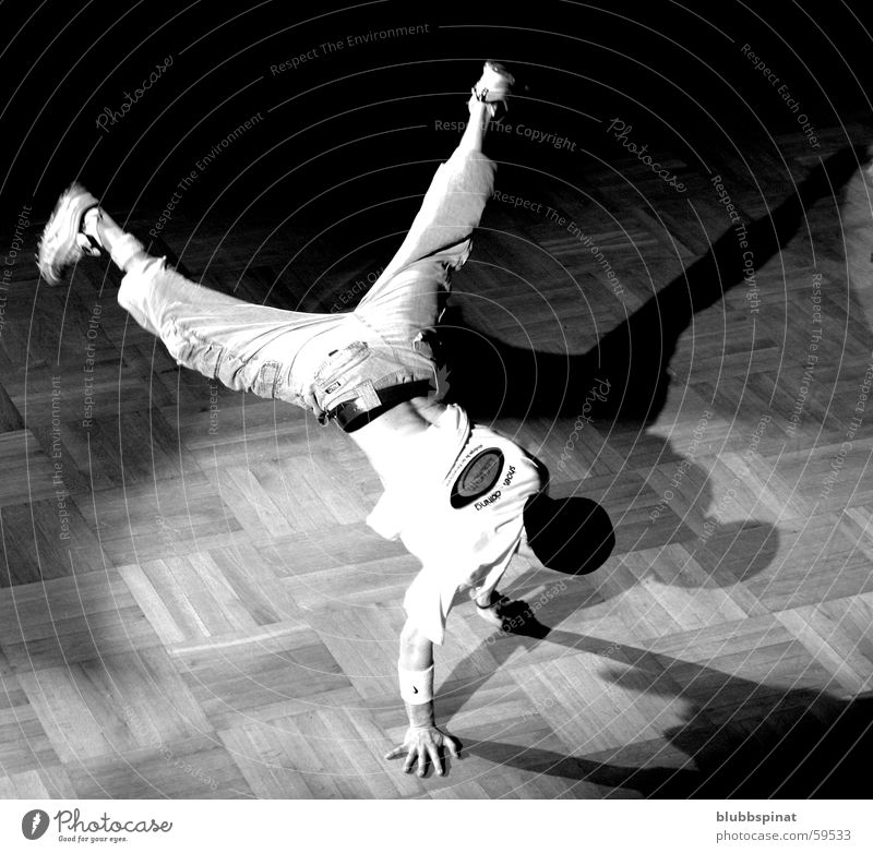 Dance Action Acrobat Breakdance Handstand Gyroscope