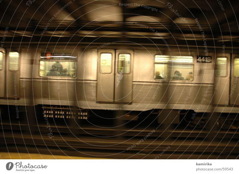 Window Railroad Underground Steel New York City London Underground Tin Railroad car