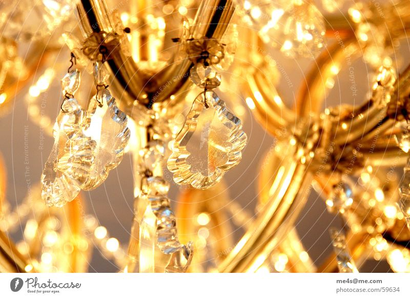 Beautiful Yellow Colour Lamp Warmth Lighting Power Arm Glass Elegant Electricity Candle Kitsch Physics Living or residing Luxury
