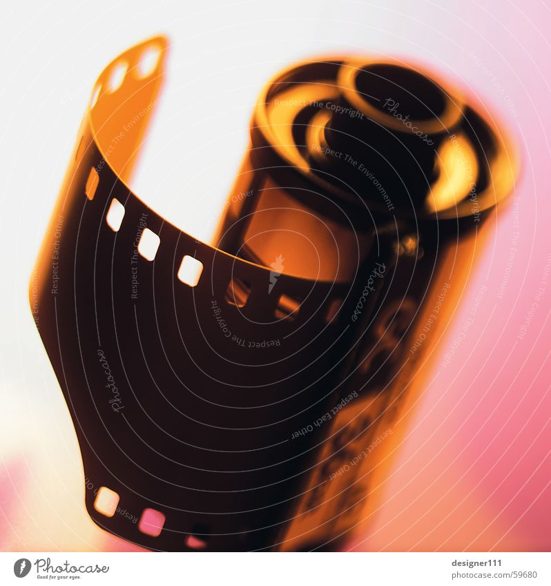 Old Black Colour Photography Film Film industry Analog Film worthy Sprocket holes (film) 35mm film