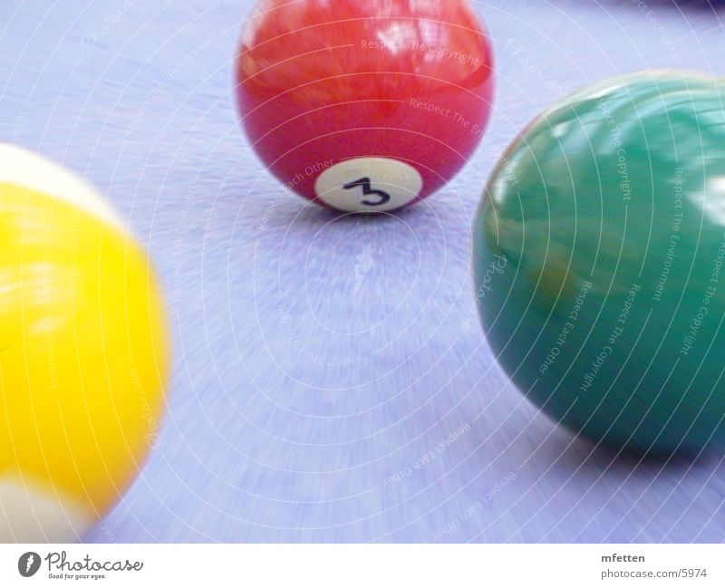 billiard Pool (game) Playing Things Sphere Colour Movement