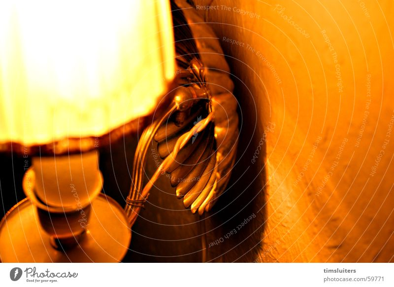 Behind Light Lamp Calm Foyer