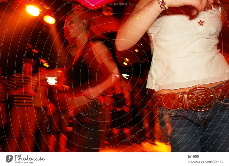 Night Life Disco Party Woman Drinking Alcohol-fueled No idea Red Blur öhm Jeans Orange discotheque zak nikon d50 horny keywords :d Party mood Party goer