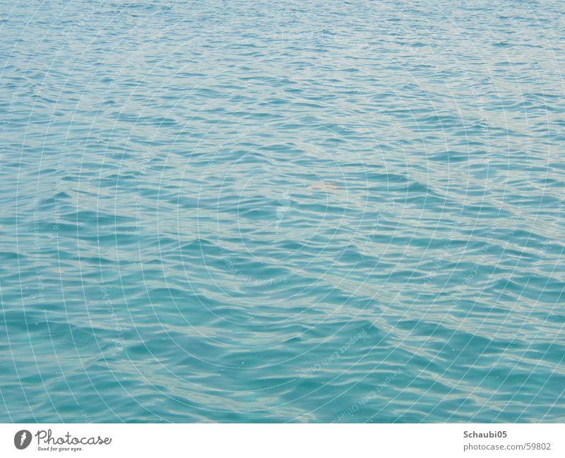 el mare Ocean Waves Sky blue Light blue Vacation & Travel Infinity Deep Wet Water Blue Freedom endless