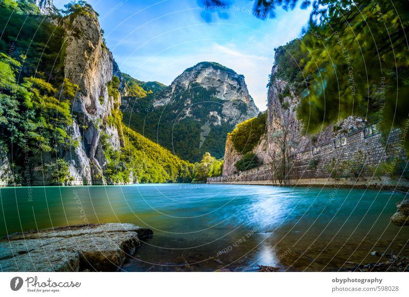 Hidden Paradise Nature Blue Colour Water Landscape Mountain Emotions Natural Dream Park Drinking water Marche