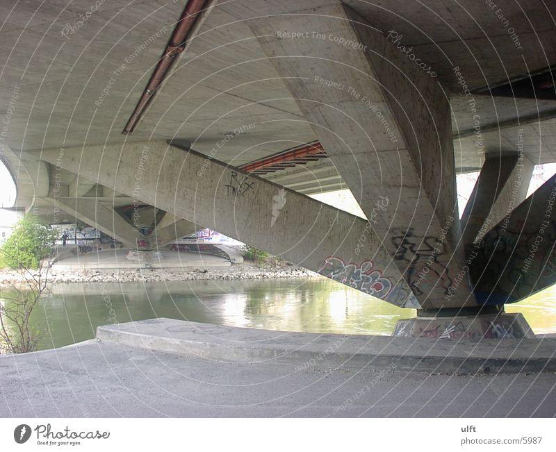 Danube Canal Bridge Sewer Architecture