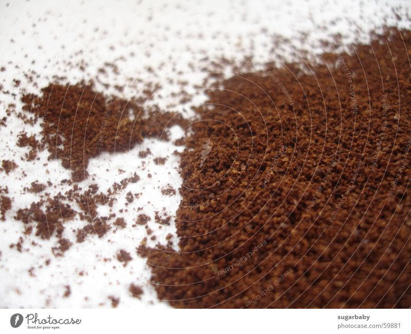 White Brown Coffee Delicious Fragrance Powder Aromatic Distributed