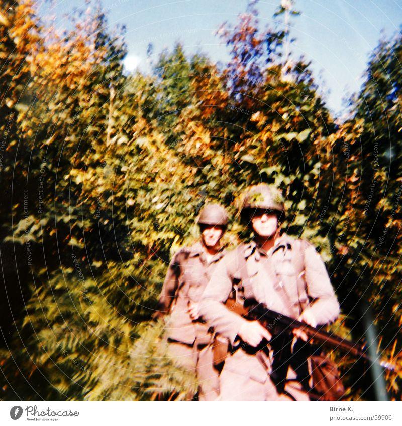 Forest War Fight Soldier Helmet Weapon Practice Uniform Federal armed forces Fighter Maneuver Combat dress