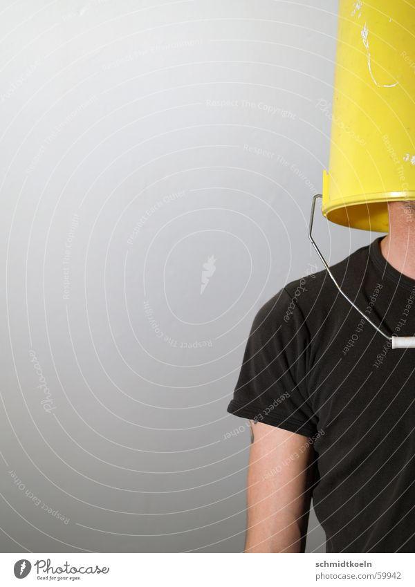 Man Loneliness Yellow Lanes & trails Planning Horizon Perspective T-shirt Guy Captured Door handle Doofus Blind Bucket Obstinate Vision