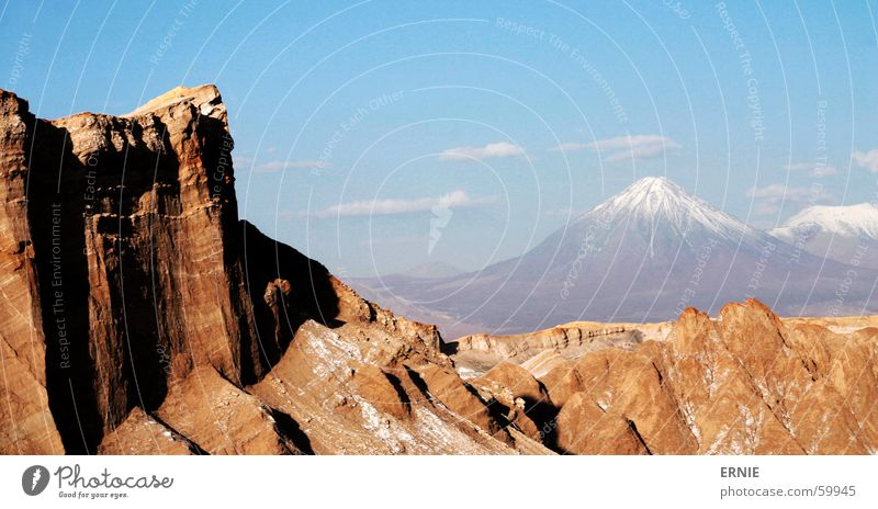 Vacation & Travel Snow Stone Desert Alcohol-fueled Americas Volcano Salt Chile South America Death valley Nationalpark San Pedro de Atacama