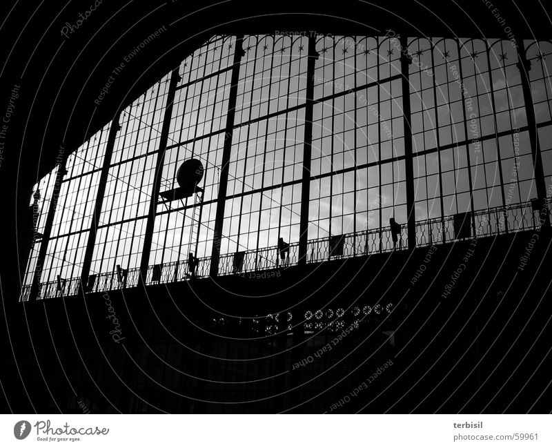 station concourse Expectation Dark Light Train station Contrast the world out there railroad station the world outside darkness brightness