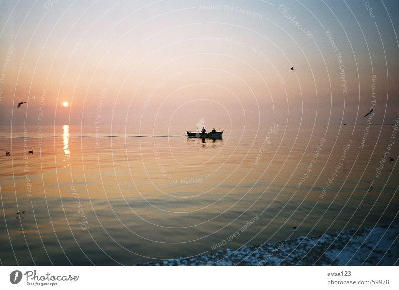 Izmir Ocean Sunset Watercraft Turkey