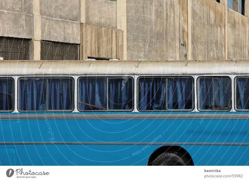 Blue Vacation & Travel Wall (building) Railroad Trip Driving Africa Bus Drape Curtain Egypt Railroad car Hitchhiker