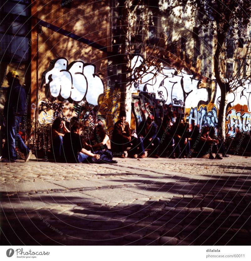 Youth (Young adults) Street School Graffiti Art Spain Live Madrid La Latina