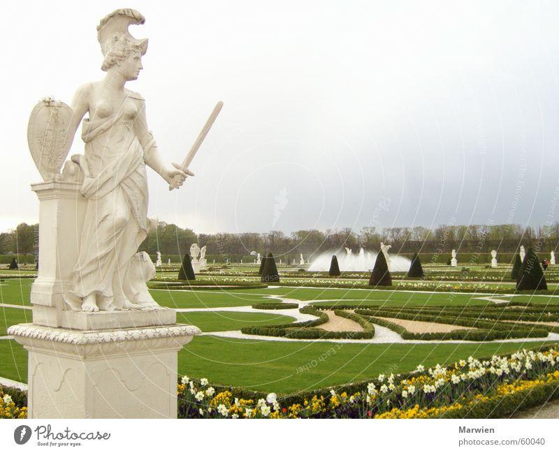 Europe Herrenhäuser Gardens Statue