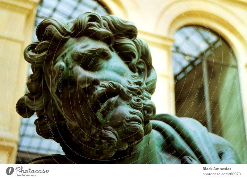 Green Head Sadness Paris Pain Distress Louvre
