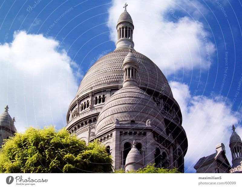 Nature Paris Manmade structures Sacré-Coeur