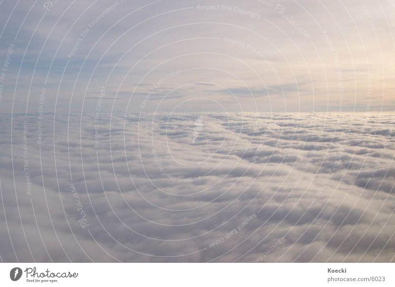 Sun Clouds Graffiti Airplane Aviation