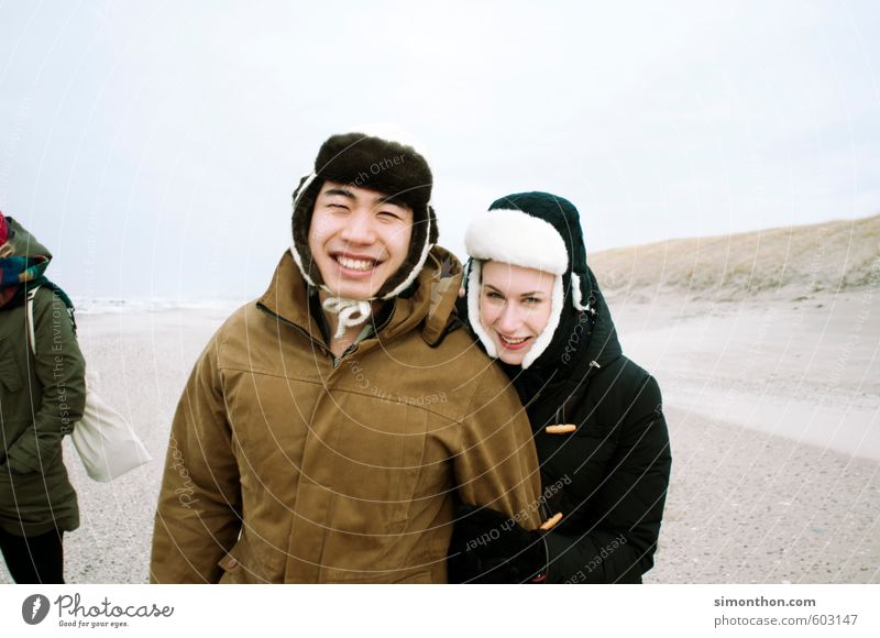 Human being Nature Youth (Young adults) Vacation & Travel Joy Far-off places Life Emotions Love Freedom Happy Couple Friendship Together Tourism Trip