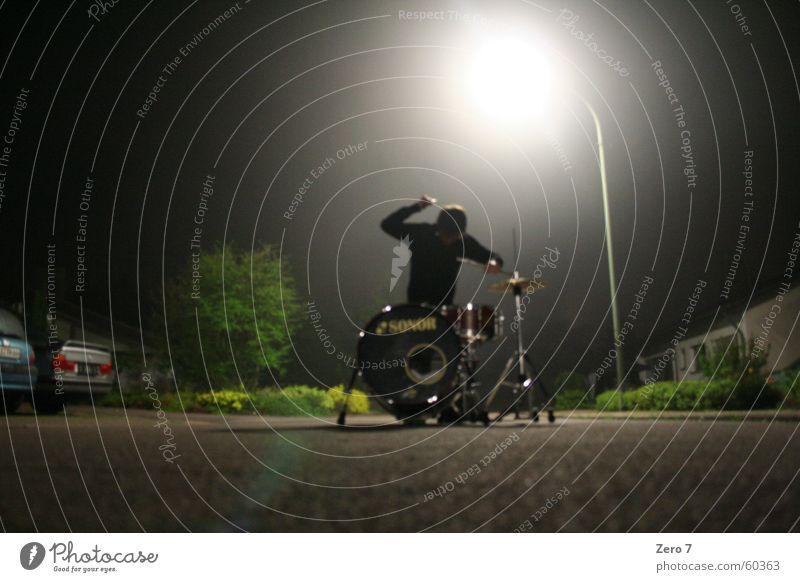 Street Music Lantern Strange Musician Awareness Blow Drum set Busker Halo Drummer Musical instrument Icons Artist